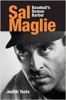 """La copertina del libro di Judith Testa """"Sal Maglie"""""""