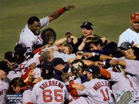 Red Sox campioni nel 2004