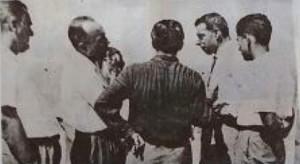 Joe DiMaggio a Isola delle Femmine nel 1955