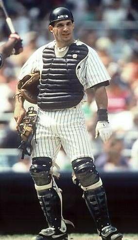 Nella foto Joe Girardi quando giocava catcher