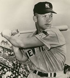 Nella foto Mickey Mantle