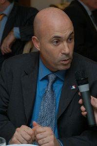 Nella foto Dan Bonanno consulente per la MLB in Italia