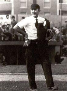 Nella foto l'umpire Giacomo Lassandro