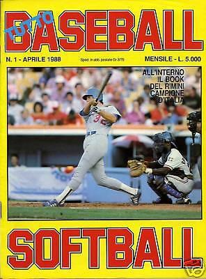 Una copertina di TUTTOBASEBALL SOFTBALL unica rivista ad aver resistito oltre trent'anni