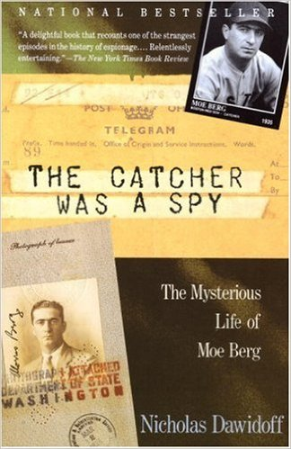 """Il libro in inglese """"The Mysterious Life of Moe Berg"""" che uscirà in italiano dalla Newton Compton Editori il 12 Ottobre"""
