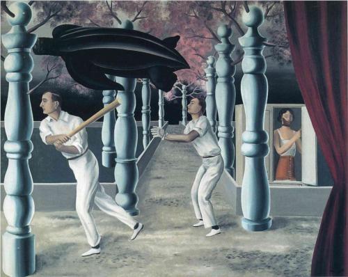 Il Giocatore Segreto - Rene Magritte