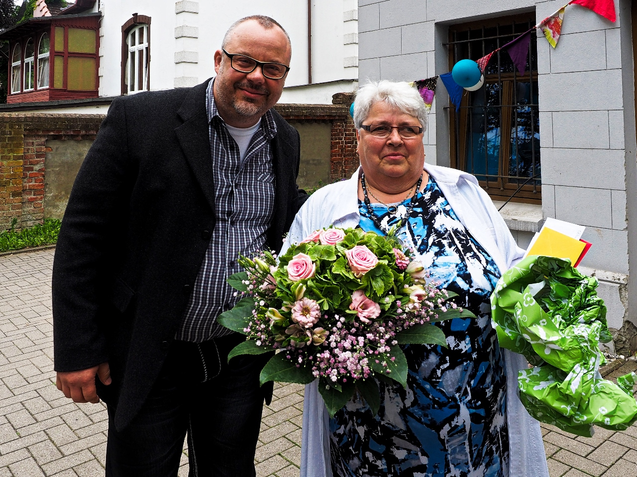 Gratulant Herr Dr. Hahnel (ALV Lübz)
