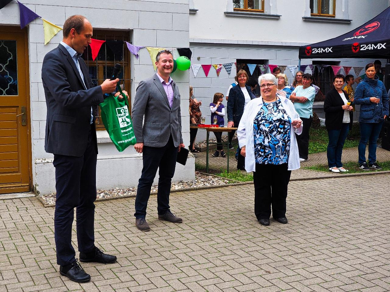 Laudator Herr Prahler (Stadt Grevesmühlen)