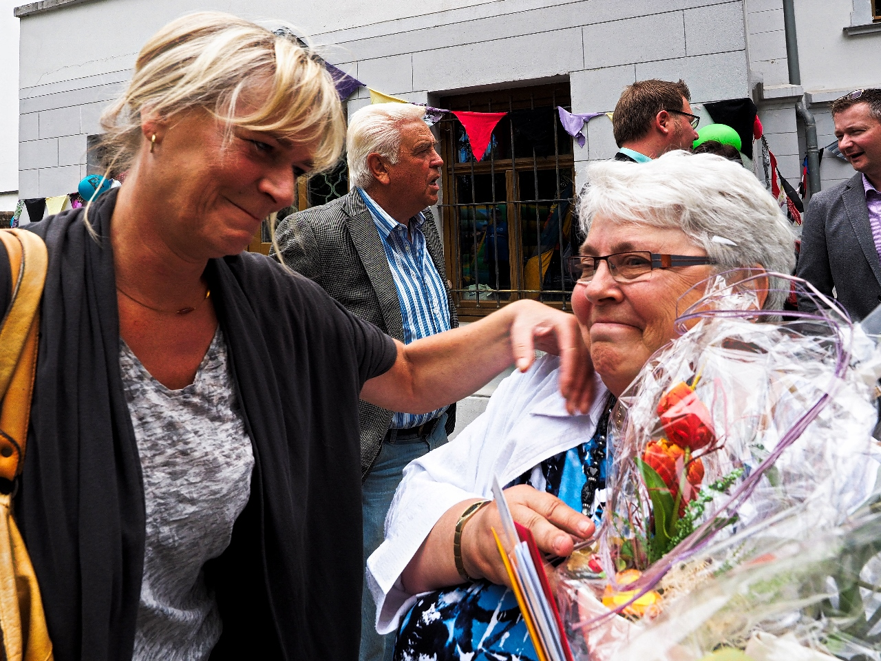 Gratulantin Frau Oldenburg (Die Linke)