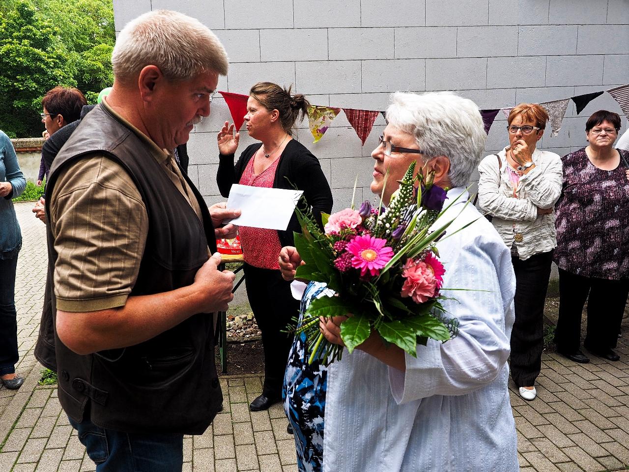 Gratulant Herr Wandel (Die Linke)