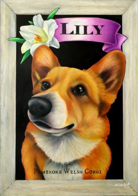 K様 愛犬リリーちゃんボード(A4)