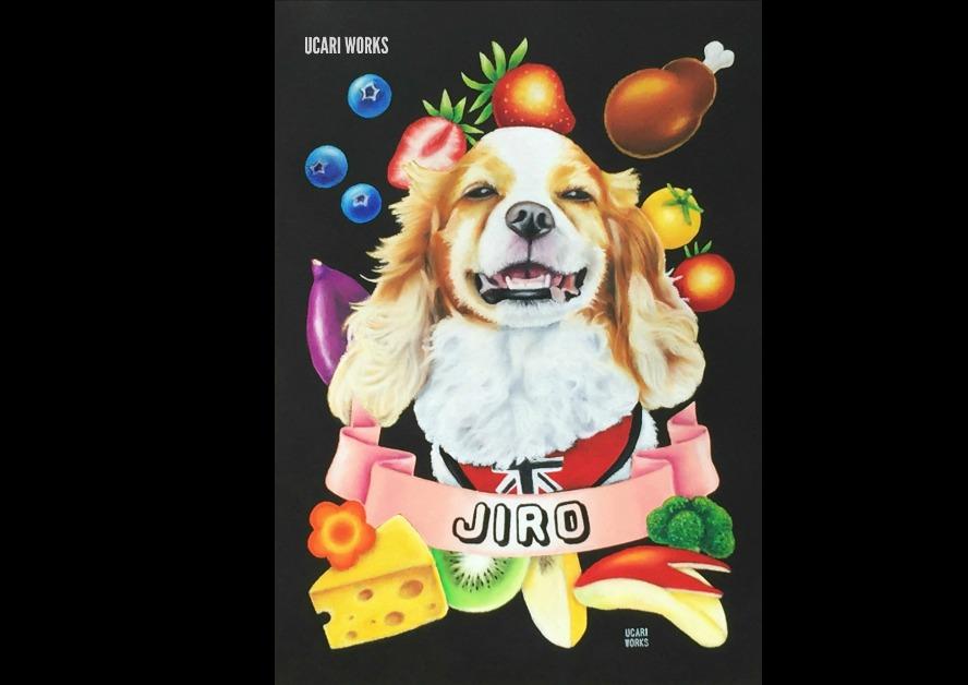 K様 愛犬JIROくんボード(ギフト用・A4)
