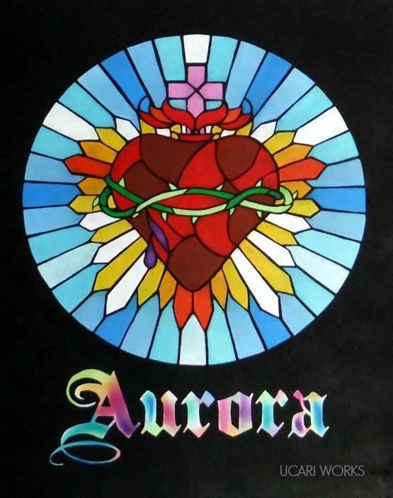 Aurora様 イベント用ミニサインボード