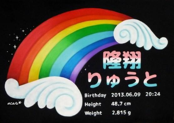 M様 誕生記念ボード