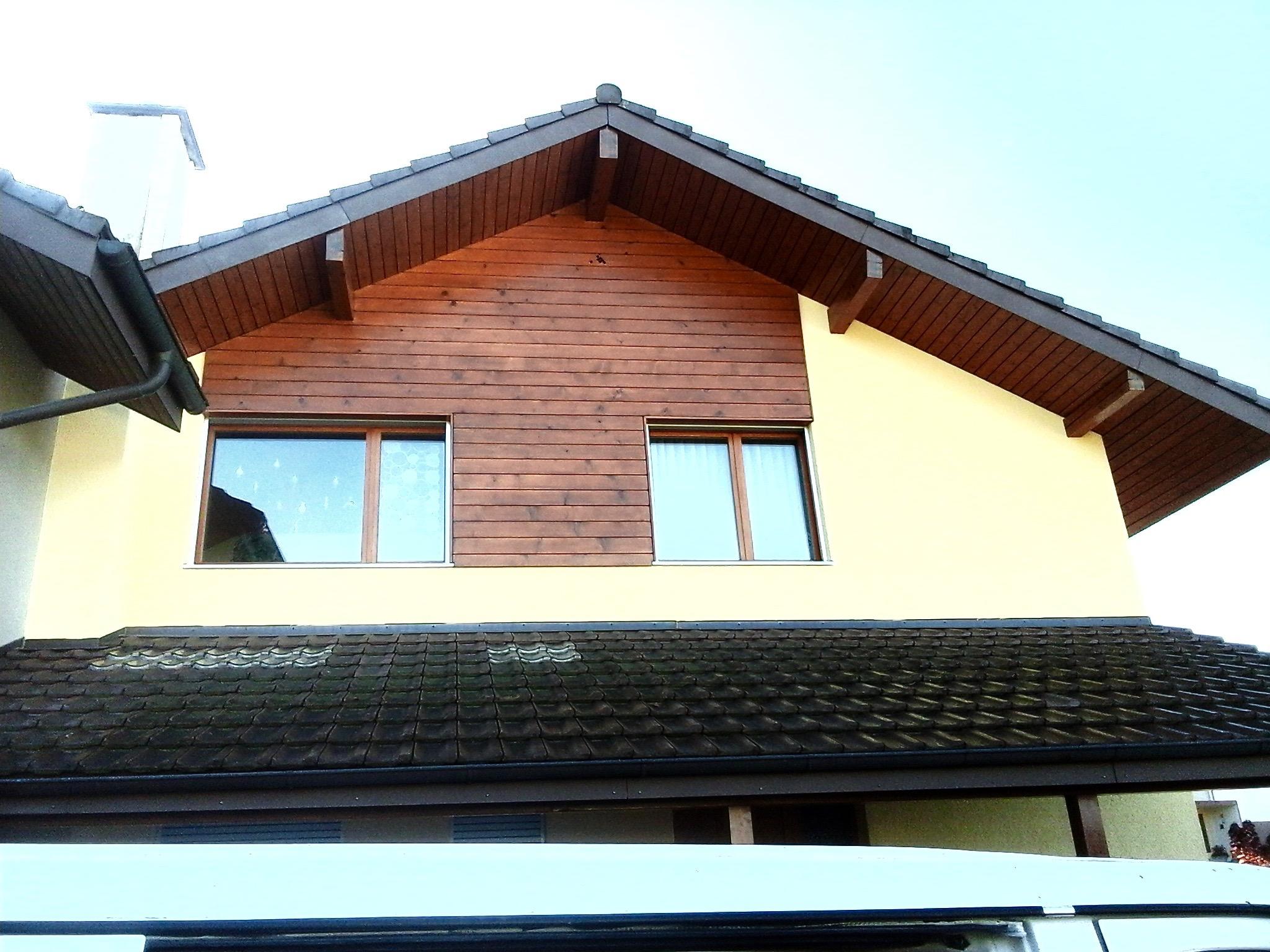 Fassadenrenovation mit neuem, frischem Farbkonzept, Seftigen