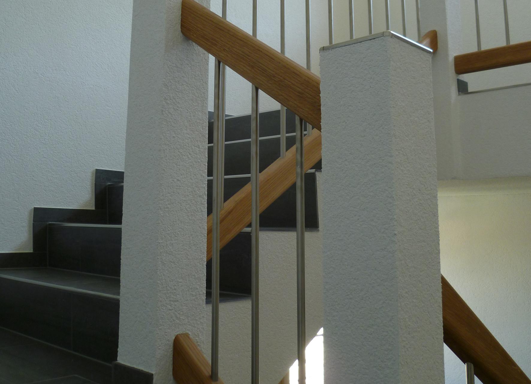 Detailarbeit im Treppenhaus, Reichenbach