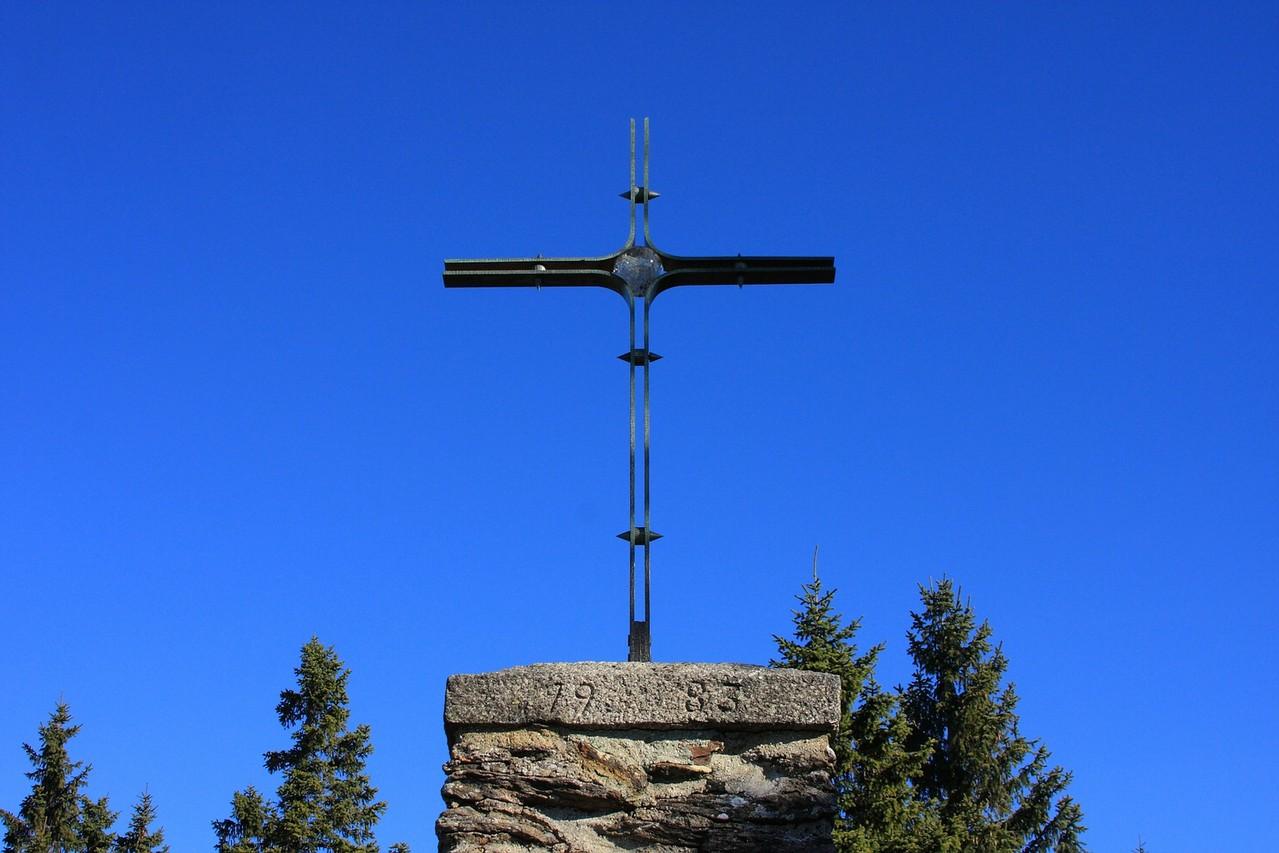 Gipfelkreuz Falkenstein