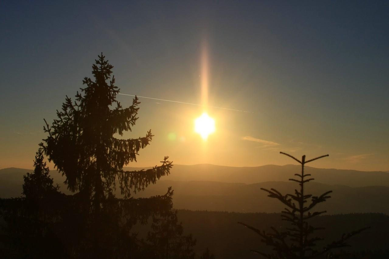 Sonnenuntergang auf dem Waagensonnriegel