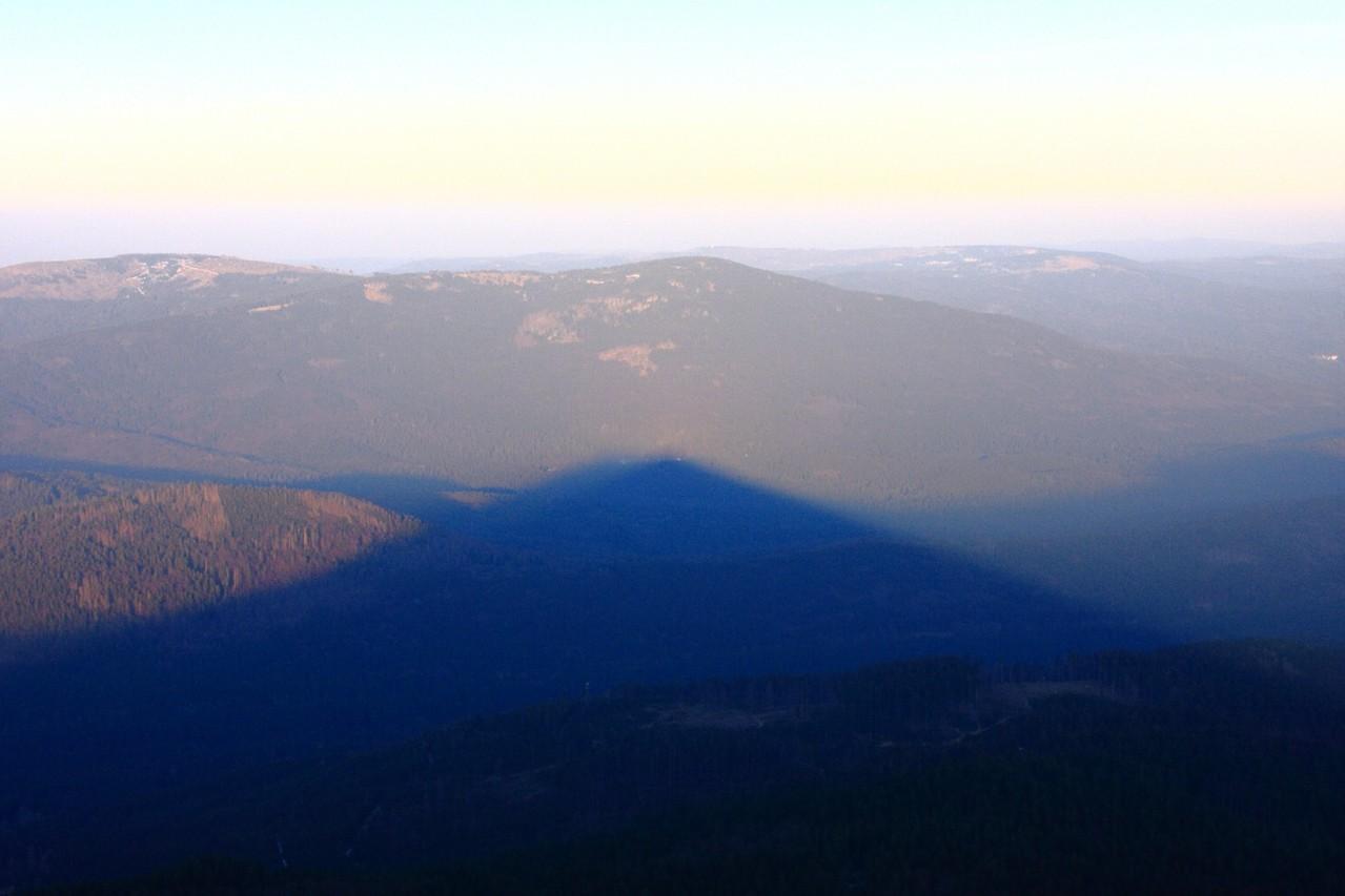 Sonnenuntergang auf dem Großen Arber 1456m