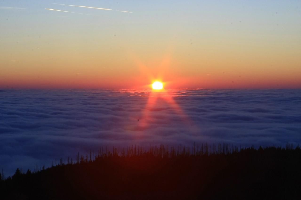 Traumhafter Sonnenaufgang