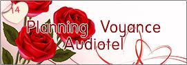 Planning Voyance Audiotel