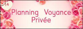 Planning Voyance Privée