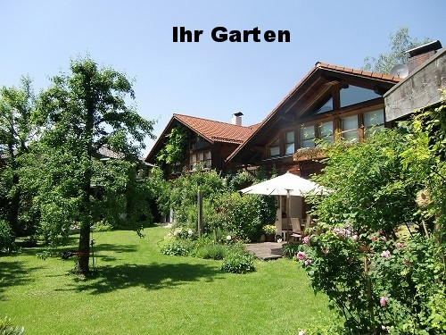 Ansicht vom Garten