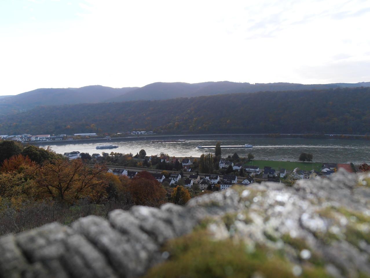 Blick auf Bornhofen