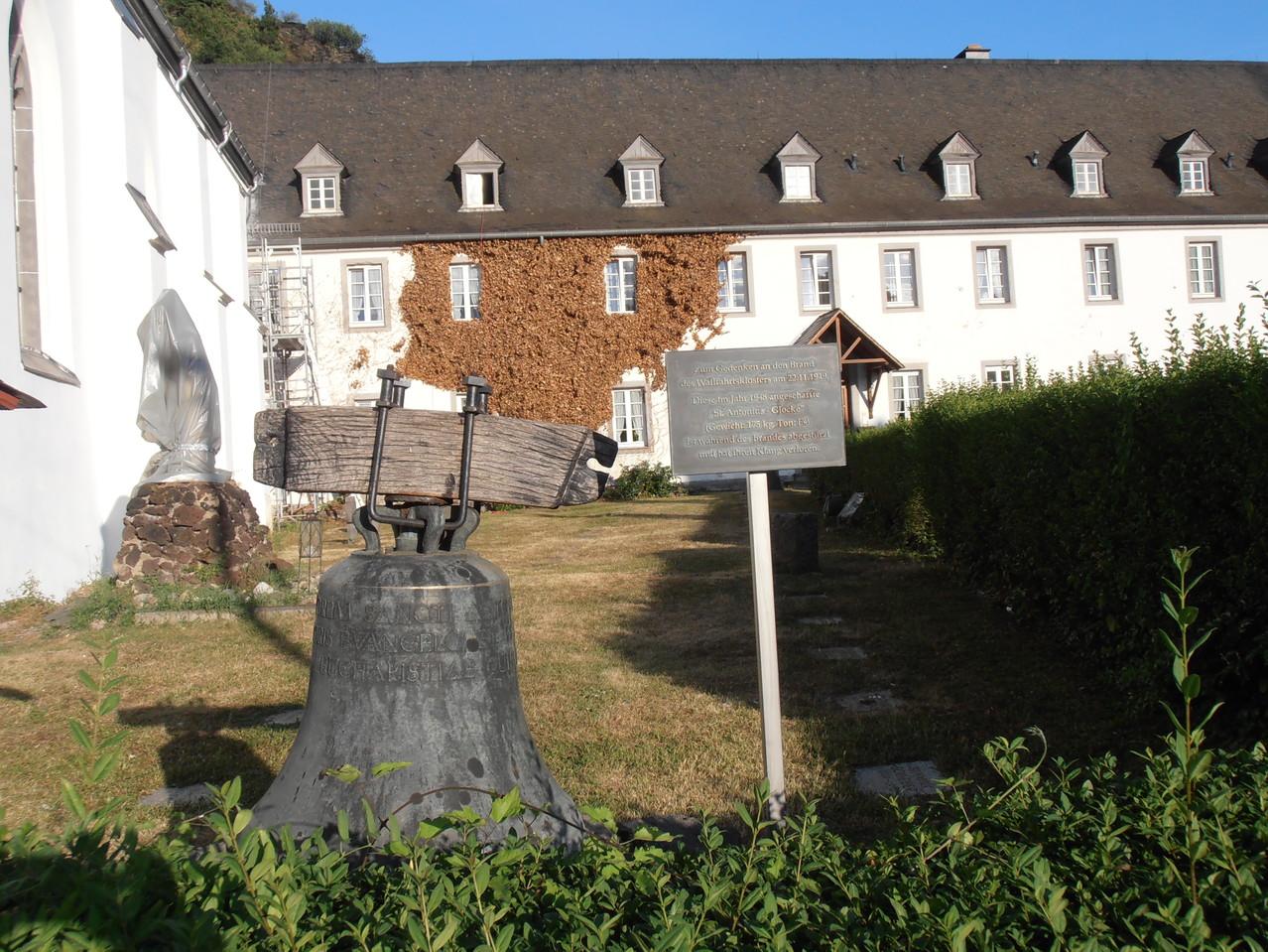 Auf dem Rückweg eben am Wallfahrtskloster vorbeigeschaut