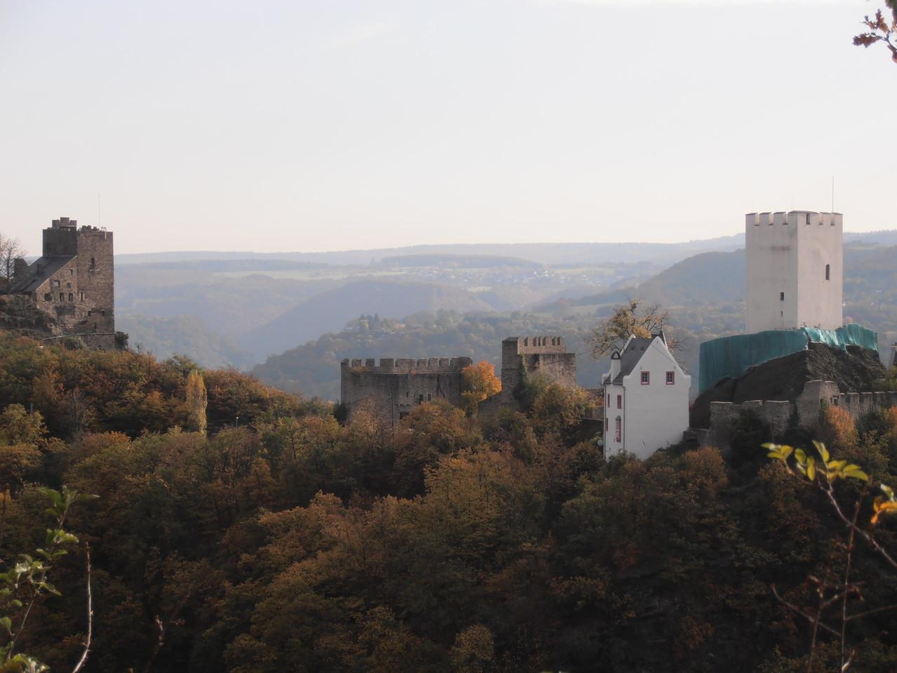 Am Ende der Himmelswiese die Sterrenberg und die Liebenstein