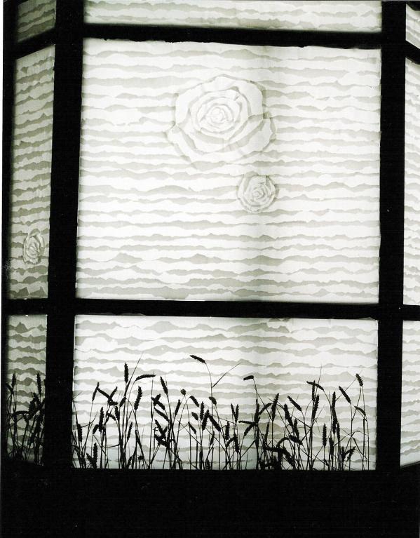 Reispapier, Getreide, Frankfurt Oder  Fenster 6 qm 2003