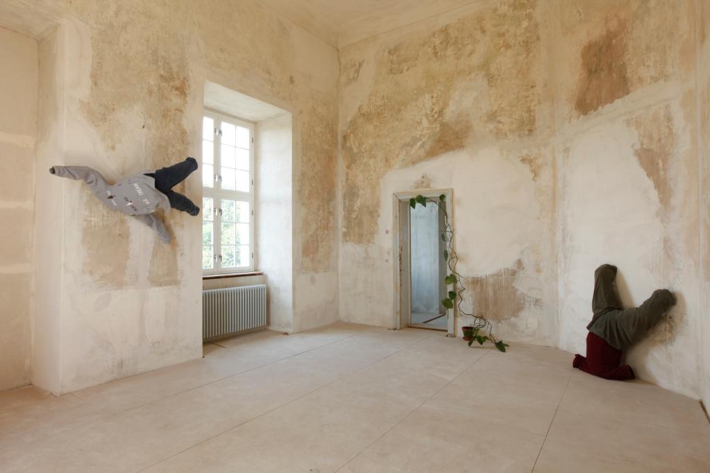 Balance, wir sind fitThema:  Wie kommt die Kuh aufs Dach, im Schloss Groß Riez 2009