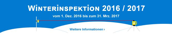 Winterinspektion 2016 / 2017