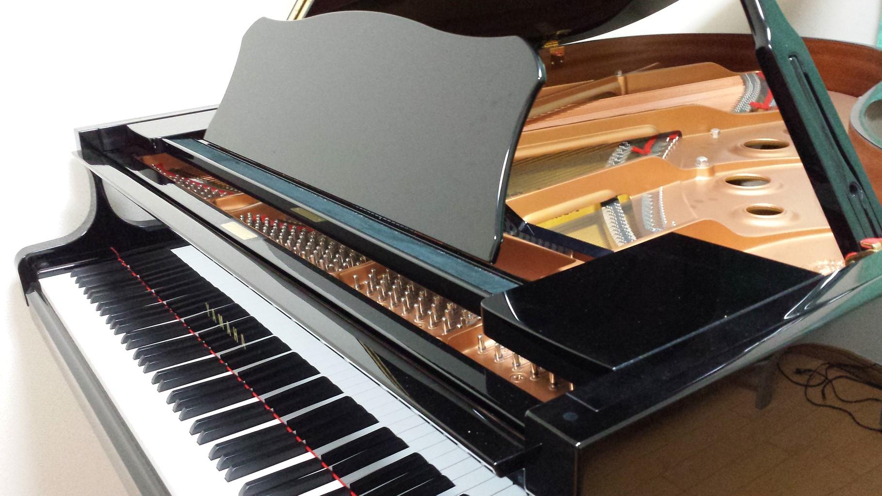 ヤマハグランドピアノです。