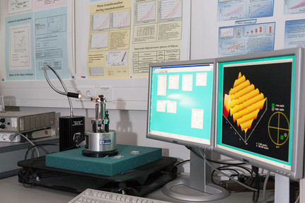 Atomic Force Microscopy (Bild: TH-Wildau)