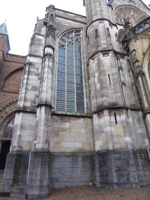 Stevenskerk zuidertransept - het halve venster