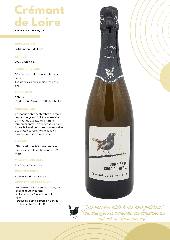 dégusation crémant de loire qualité champagne