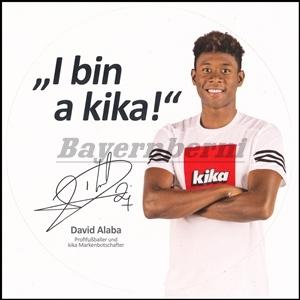 Alaba, 2016, Kika, Aufkleber