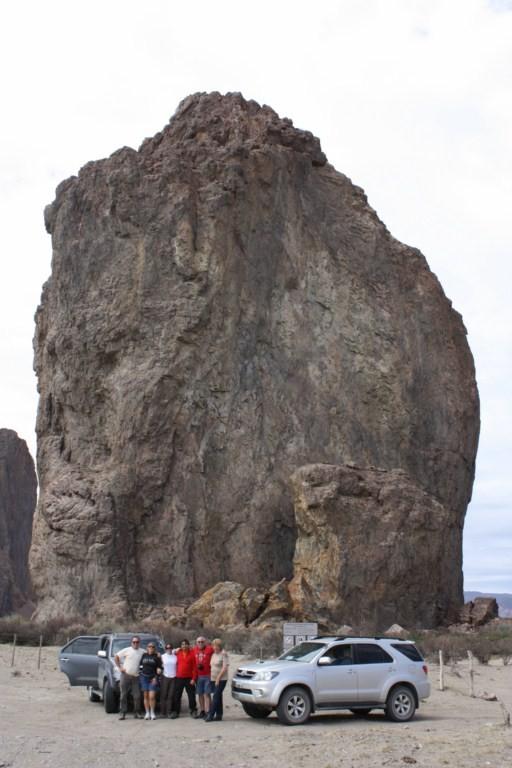 Es una formación de piedra sílice