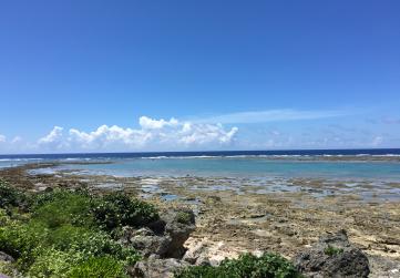 大度浜海岸 ジョン万ビーチ