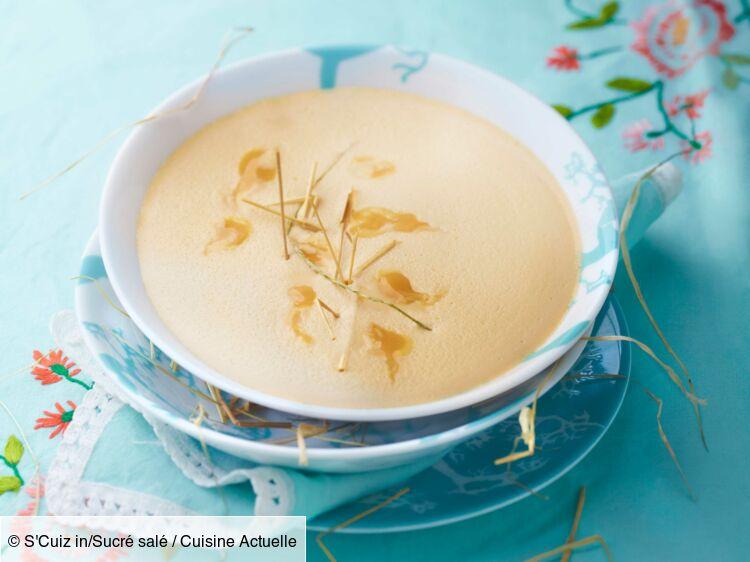 Crème de foin au miel