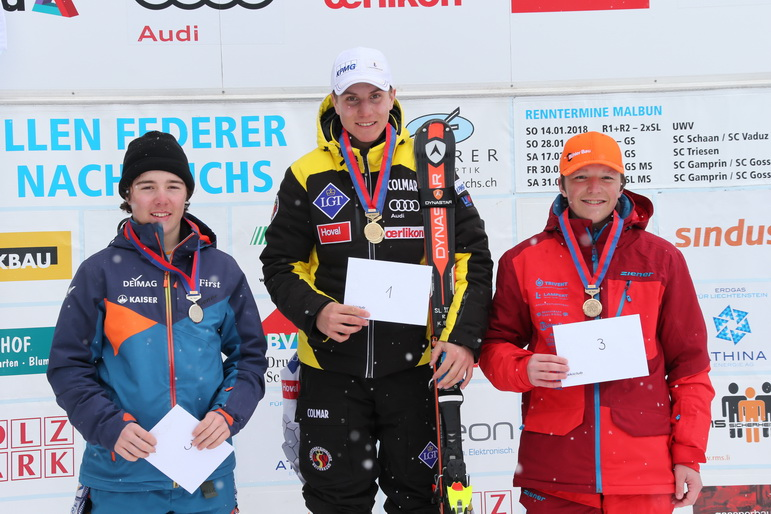 Knaben U16 Slalom