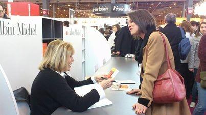 l'âme de tara, Ctherine Pancol, Salon du Livre, Albin Michel; roman, spiritualité