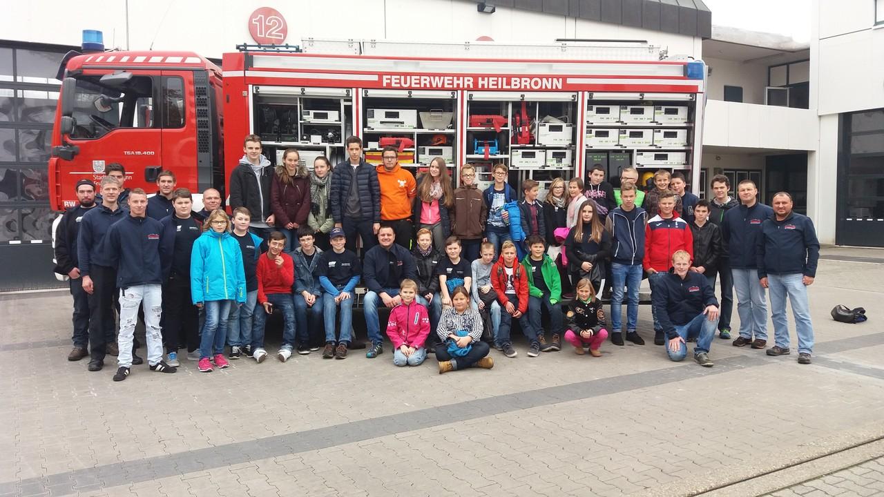 Jugendfeuerwehr Waldbrunn Besucht Berufsfeuerwehr