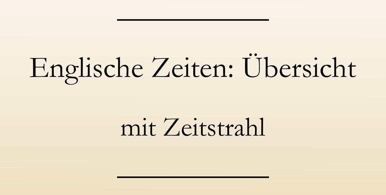 zeitformen deutsch zeitstrahl