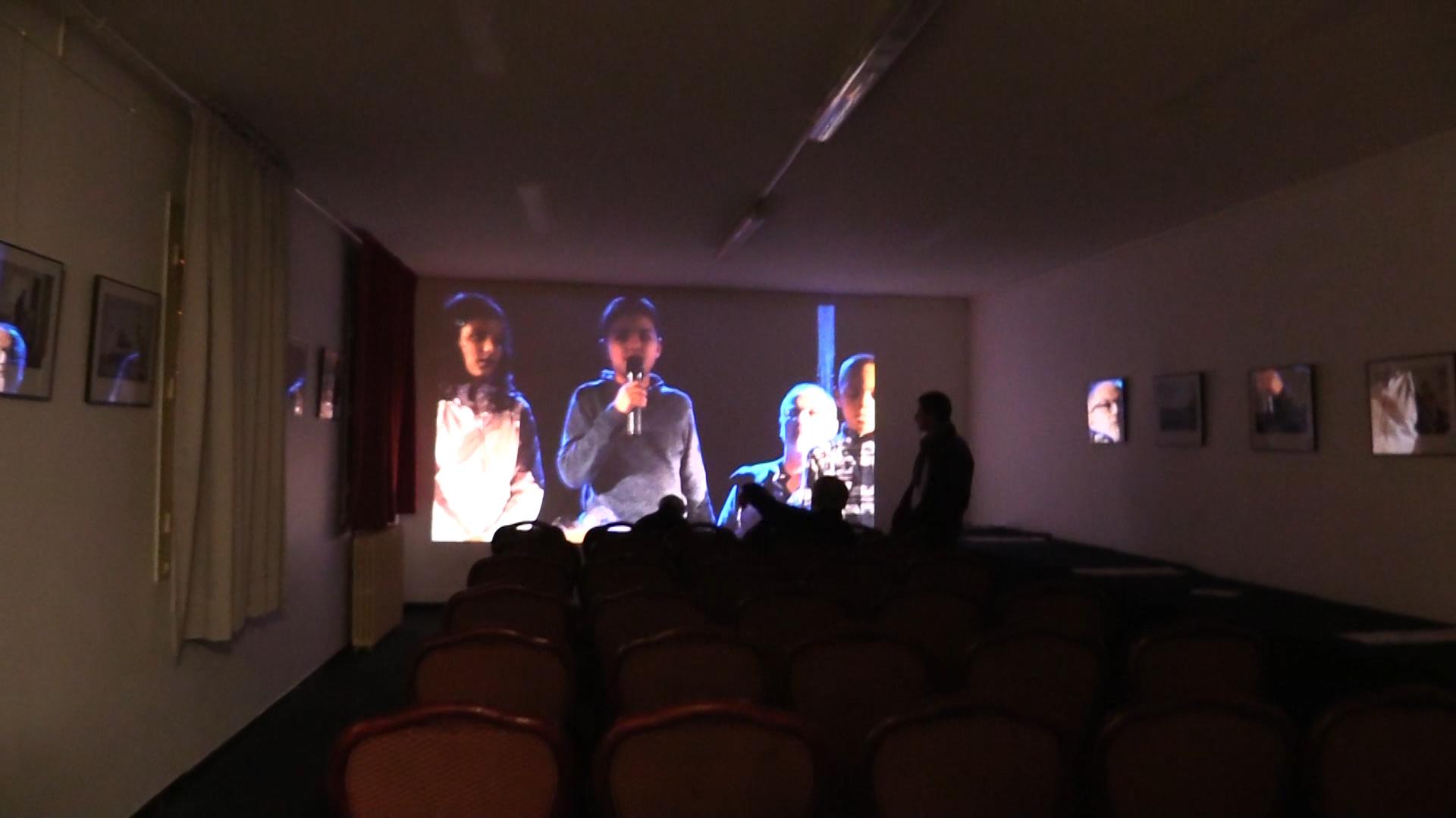 Au 1er étage, Salle de réunion et de projection