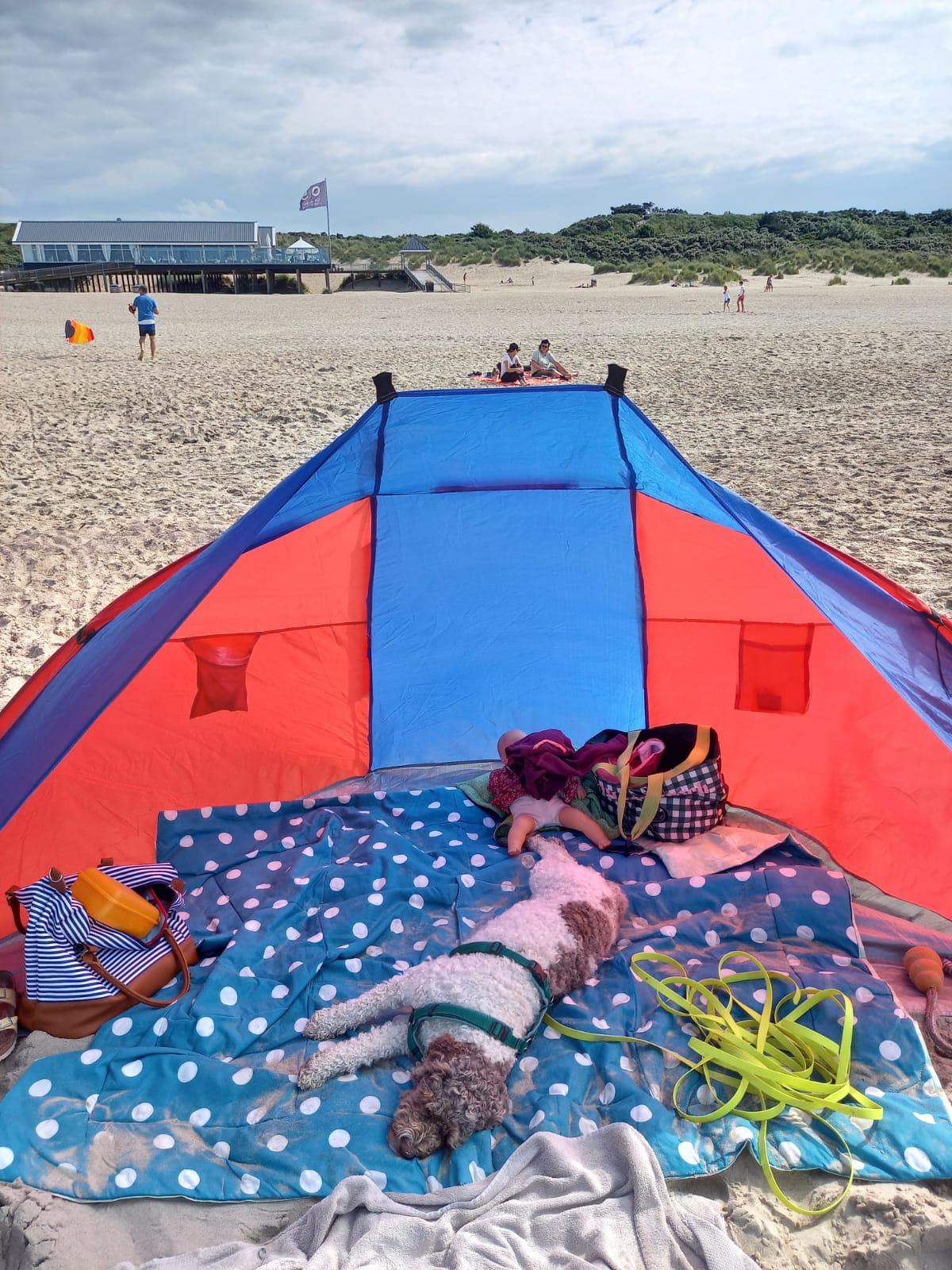 Lotti geniesst den Sommer am Strand
