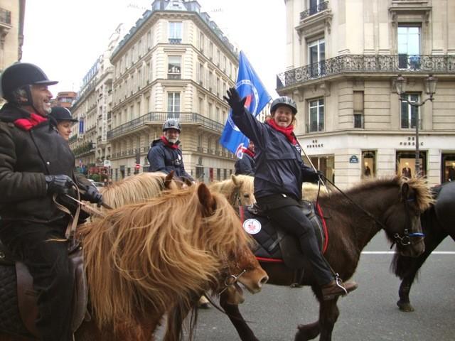 Photo du Défilé dans Paris
