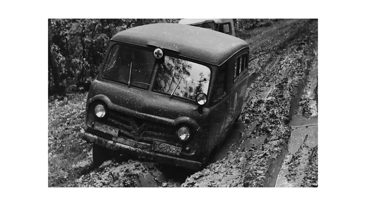 Le 450 était conçue comme une fourgonnette tout-terrain