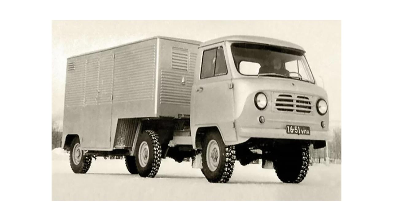 Un prototype de modèle de tracteur 450 n'a jamais été mis en production
